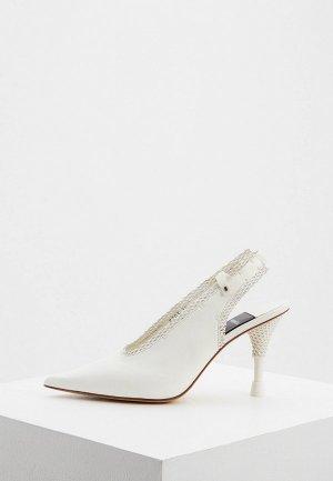 Туфли Premiata. Цвет: белый