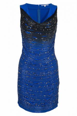 Платье Amen. Цвет: синий