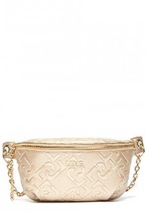 Поясная сумка LIU JO. Цвет: золотой