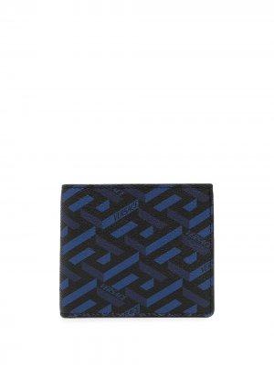 Кошелек La Greca Versace. Цвет: синий