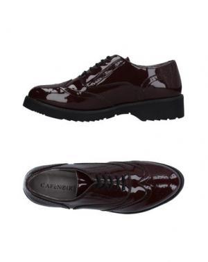 Обувь на шнурках CAFèNOIR. Цвет: красно-коричневый