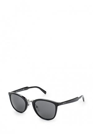 Очки солнцезащитные Prada PR040DMOWW10. Цвет: черный