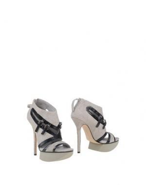 Ботинки CAMILLA SKOVGAARD. Цвет: светло-серый