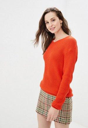 Пуловер Gepur. Цвет: красный