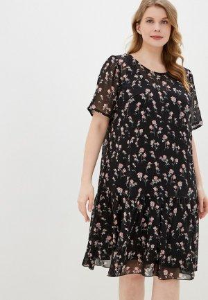 Платье Forus. Цвет: черный