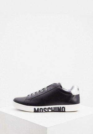 Кеды Moschino Couture. Цвет: черный