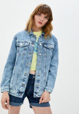 Куртка джинсовая Mavi JILL. Цвет: голубой