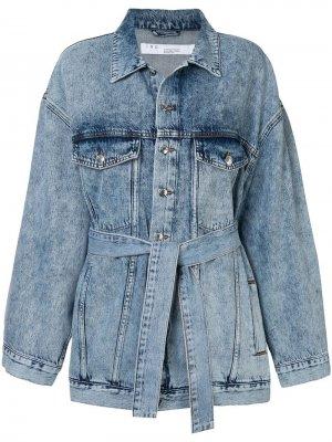 Джинсовая куртка с поясом Iro