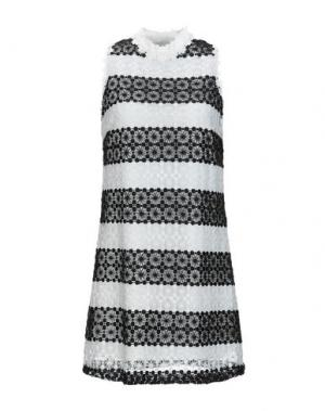 Короткое платье LOUCHE. Цвет: белый