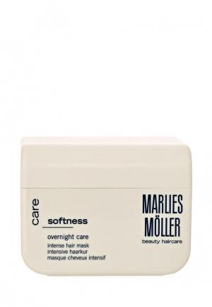 Маска для волос Marlies Moller Softness Интенсивная гладкости 125 мл. Цвет: белый