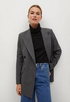 Пиджак Mango - PARTY. Цвет: серый