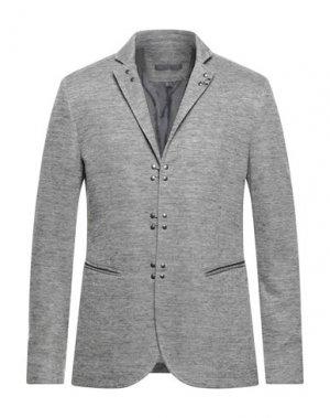 Пиджак JOHN VARVATOS. Цвет: серый