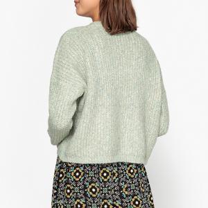 Пуловер из плотного трикотажа AUDRAN GARANCE PARIS. Цвет: бирюзовый