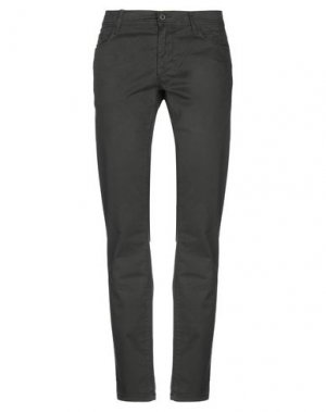 Повседневные брюки MELTIN POT. Цвет: темно-зеленый
