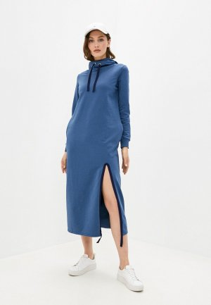 Платье Xarizmas. Цвет: синий