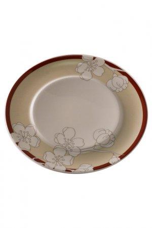Набор 6 тарелок 16 см Royal Porcelain. Цвет: коричневый
