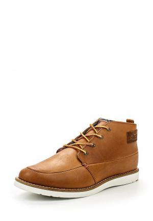 Ботинки Hub. Цвет: коричневый