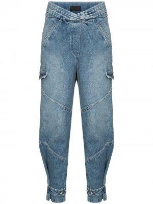 Зауженные джинсы Dallas RtA. Цвет: синий