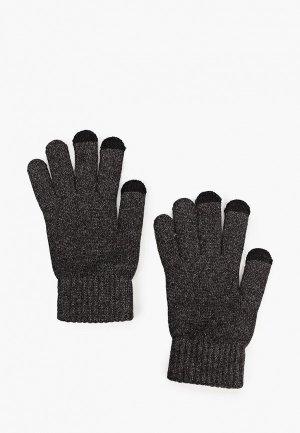 Перчатки Mango Man I TOUCH. Цвет: серый