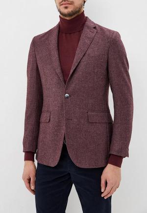 Пиджак Hackett London. Цвет: бордовый