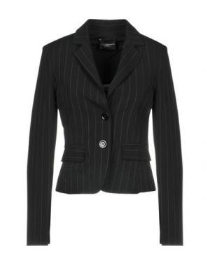 Пиджак ATOS LOMBARDINI. Цвет: черный