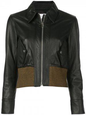 Куртка-бомбер Proenza Schouler White Label. Цвет: черный