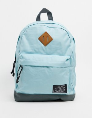 Голубой рюкзак с логотипом -Синий Skechers