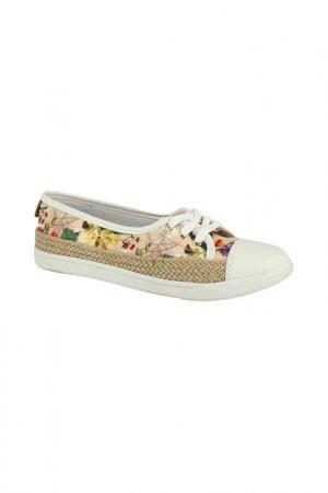 Прогулочная обувь Cravo & Canela. Цвет: белый, бежевый