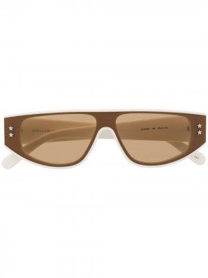 Солнцезащитные очки Star Stella McCartney Eyewear. Цвет: белый