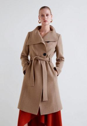 Пальто Mango - VENUS2. Цвет: коричневый