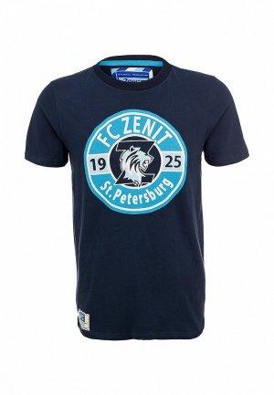 Футболка FC Zenit FC002EMARJ77. Цвет: синий