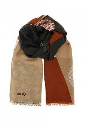 Палантин LIU JO. Цвет: коричневый