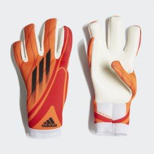 Вратарские перчатки для тренировок X Performance adidas. Цвет: красный