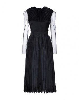 Платье длиной 3/4 AU JOUR LE. Цвет: черный