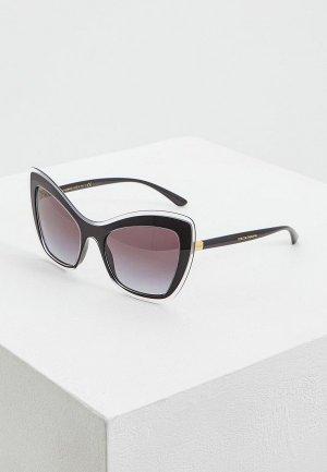 Очки солнцезащитные Dolce&Gabbana DG4364 53838G. Цвет: черный