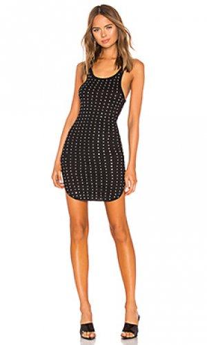 Мини платье Frankie B. Цвет: черный