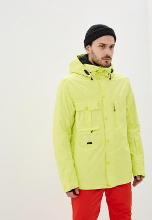 Куртка горнолыжная Billabong. Цвет: желтый