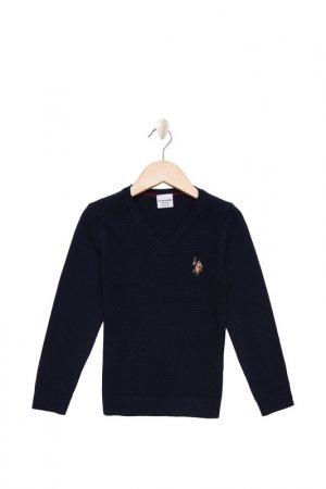 Пуловер U.S. Polo Assn.. Цвет: vr033 темно-синий