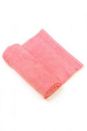 Полотенце махровое EVA Teks. Цвет: розовый