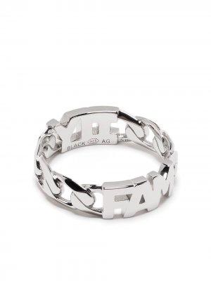 Кольцо Family из серебра Maria Black. Цвет: серебристый