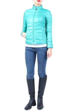 Куртка EVA Milano. Цвет: зеленый