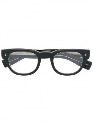 Солнцезащитные очки в квадратной оправе Eyevan7285. Цвет: черный