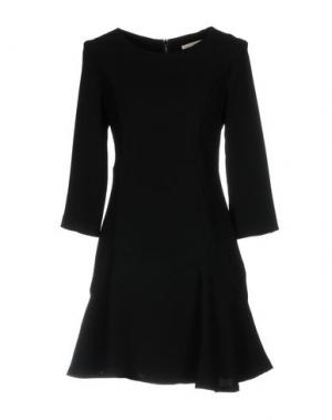 Короткое платье GAUDÌ. Цвет: черный