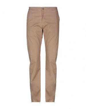 Повседневные брюки ARMATA DI MARE. Цвет: верблюжий