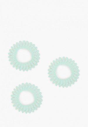 Резинки 3 шт. invisibobble. Цвет: бирюзовый