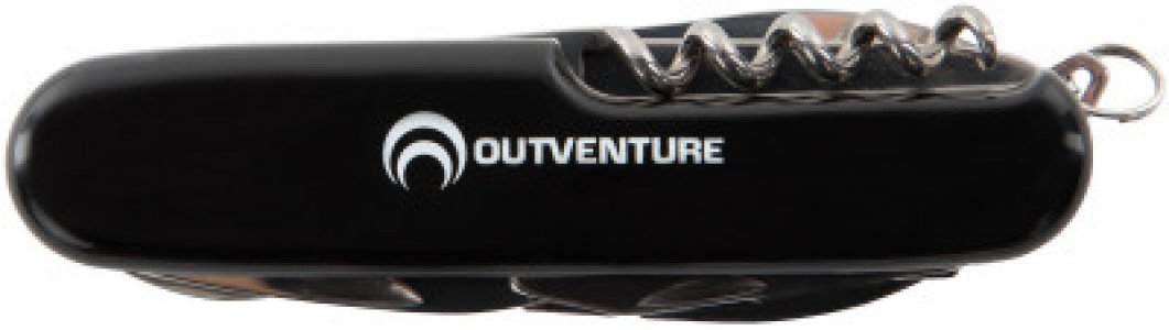 Набор инструментов многофункциональный Outventure. Цвет: черный