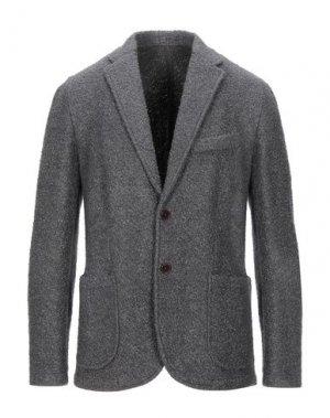 Пиджак PAOLO FIORILLO. Цвет: серый