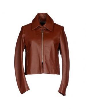 Куртка ADELE FADO. Цвет: коричневый