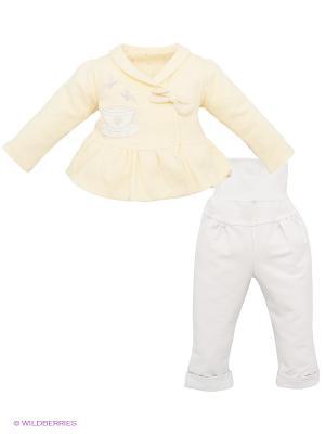 Комплект Ewa. Цвет: желтый, серый