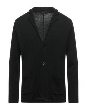 Пиджак LUCA BERTELLI. Цвет: черный